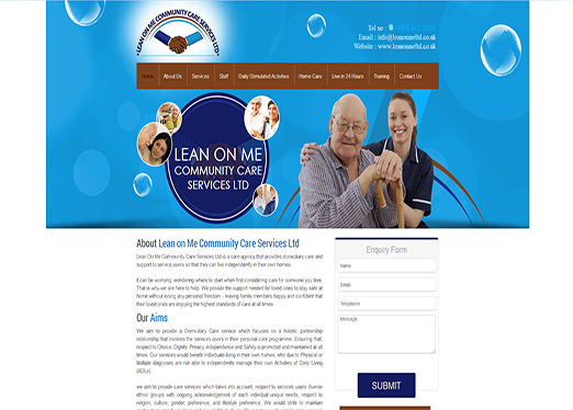 Lean On Me Community Care Services Ltd